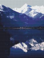 Snowy Mountains Reflected