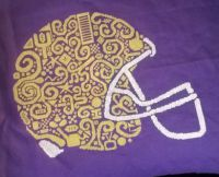 Tribal Football Helmet PDF
