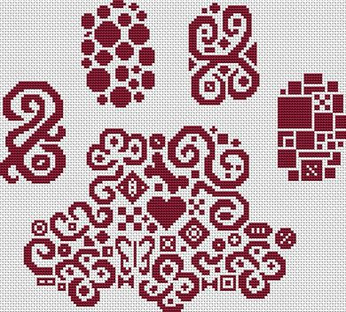 Tribal Paw Print