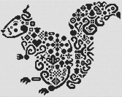 Tribal Squirrel PDF