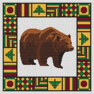 Country Quilt - Bear