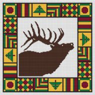 Country Quilt - Elk