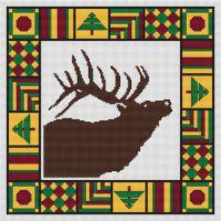 Country Quilt - Elk