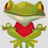 Peaceful Frog