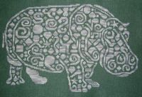 Tribal Hippo