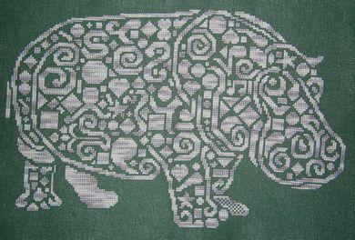 Tribal Hippo