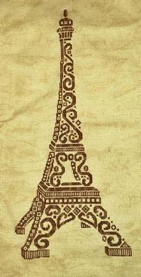 Tribal Eiffel Tower