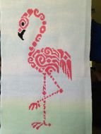 Tribal Flamingo