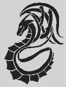 Tribal Dragon PDF