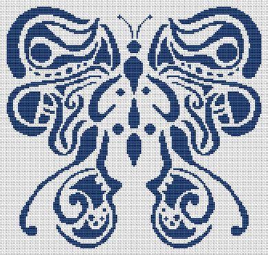 Tribal Butterfly PDF