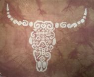 Tribal Cow Skull