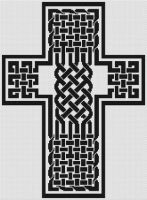 Celtic Knot Cross 3