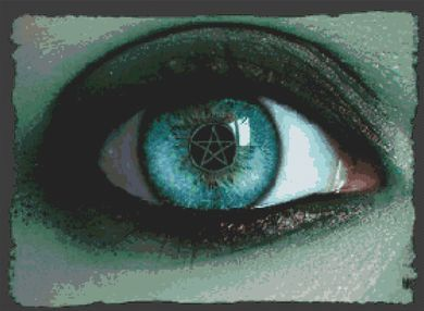In A Witch's Eye