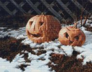 Pumpkin Pair