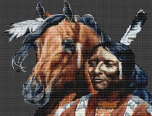 Indian and His Horse PDF