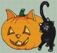 Halloween Scene PDF
