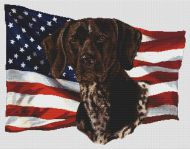 Patriotic German Shorthaired Pointer