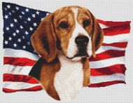 Patriotic Beagle