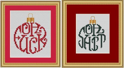 Humbug Ornaments Part 2
